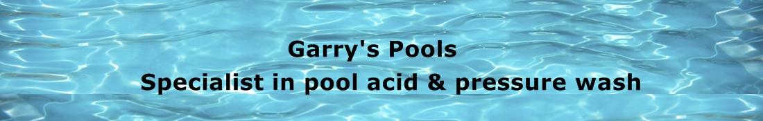 Pool acid and Pressure wash